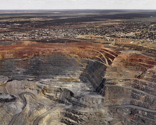 Super Pit #4, Kalgoorlie, Western Australia by Edward Burtynsky