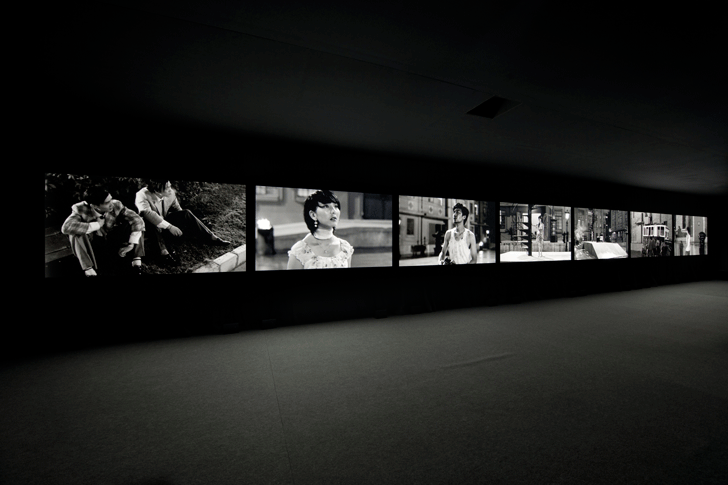 Yang Fudong video installation