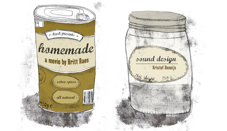 Britt Raes' Homemade film poster