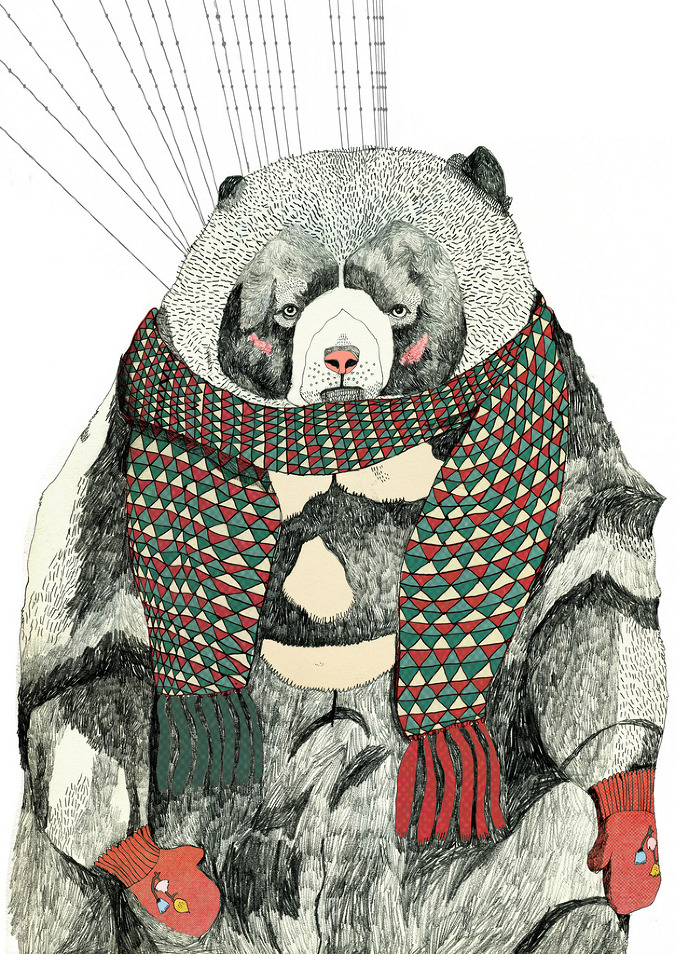 Julia Pott's bear for Small Magazine