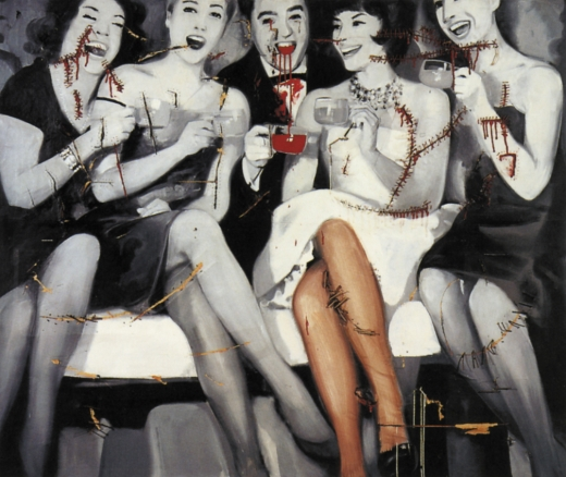 Party - 1963 by Gerhard Richter