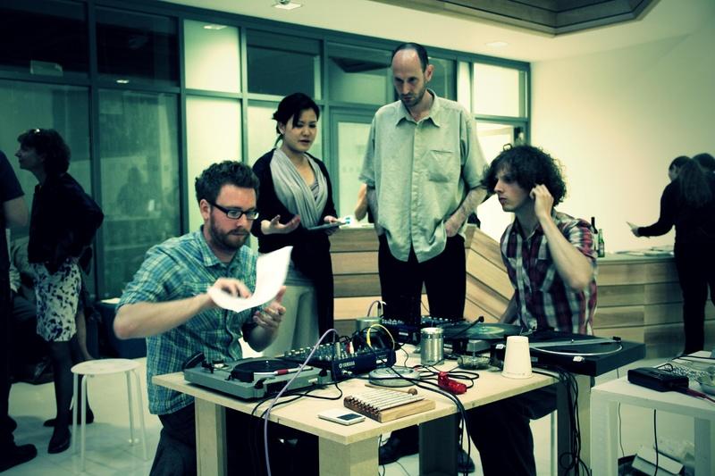 Patrick Farmer, Dniel Jones &David Lacey @ Sound Fjord