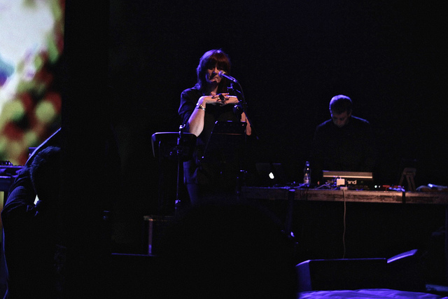 Chris & Cosey @ Unsound Fest earlier this month. Photo © Bob Wass
