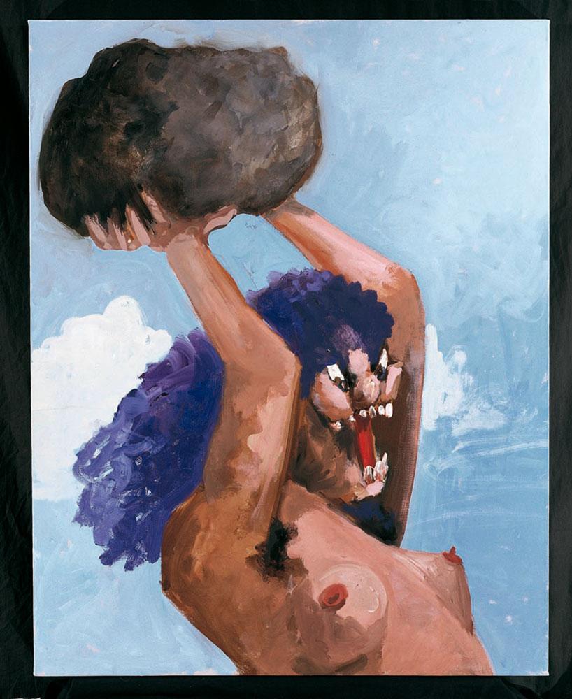 George Condo Cave Woman