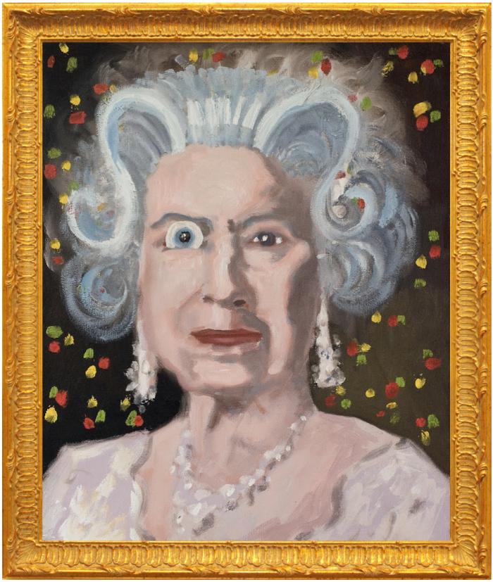 George Condo's Insane Queen 2006