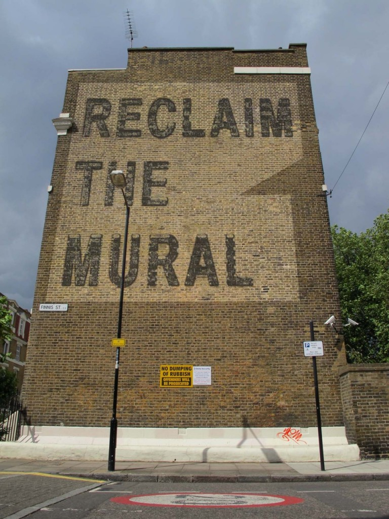 Reclaim the mural logo