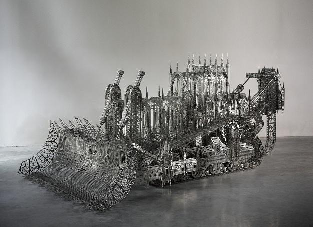 Wim Delvoye's bulldozer