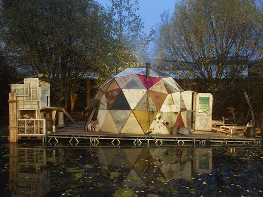 Alex Hartley, Dropper, 2011. Installation Victoria Miro 2011.