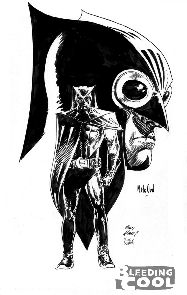 Nite Owl - Watchmen2 by Joe Kubert y Andy Kubert
