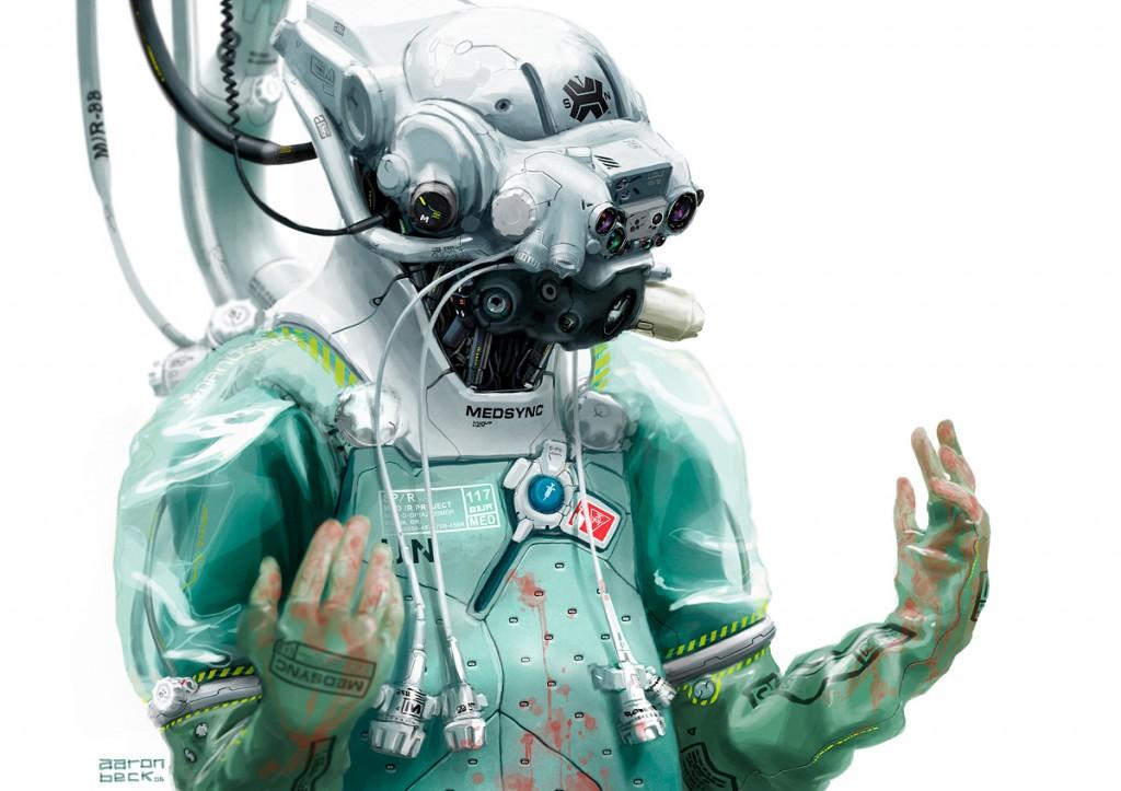 Aaron Beck's Medtech robot artwork - 2006