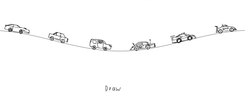 Koblin's The Single Lane Super Highway