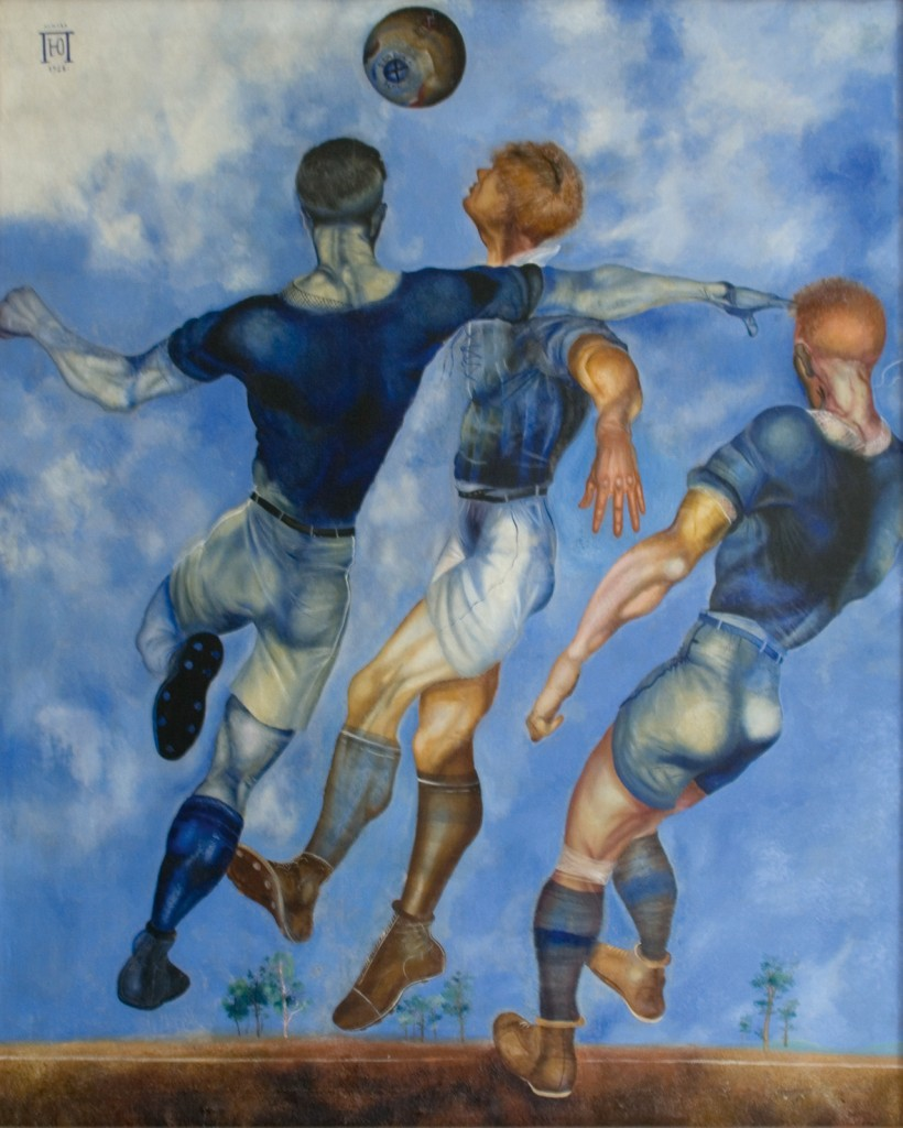 Football by Yuri Pímenov - 1926