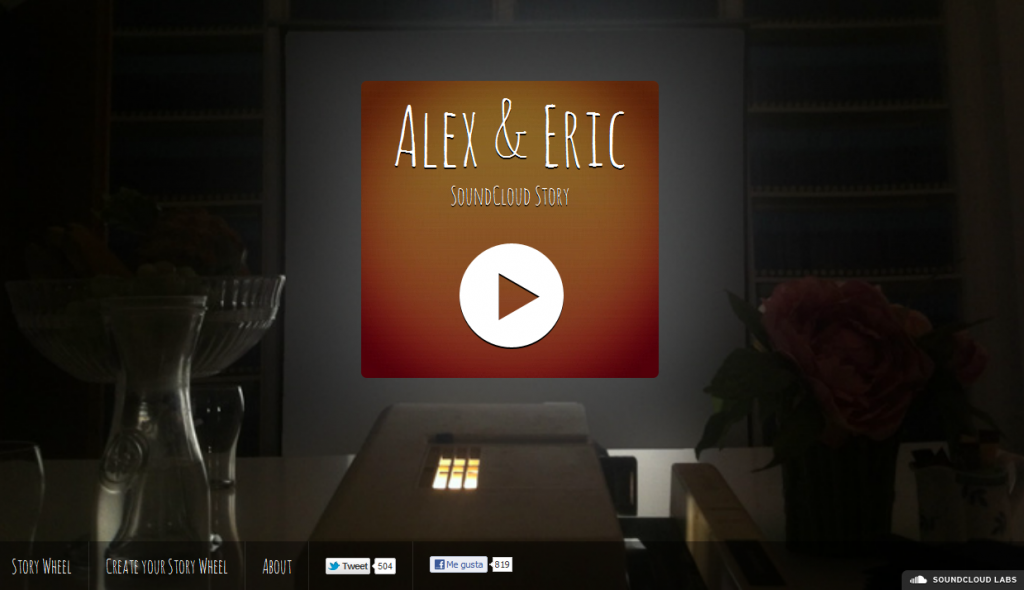 Alex&Eric Soundcloud Storywheel