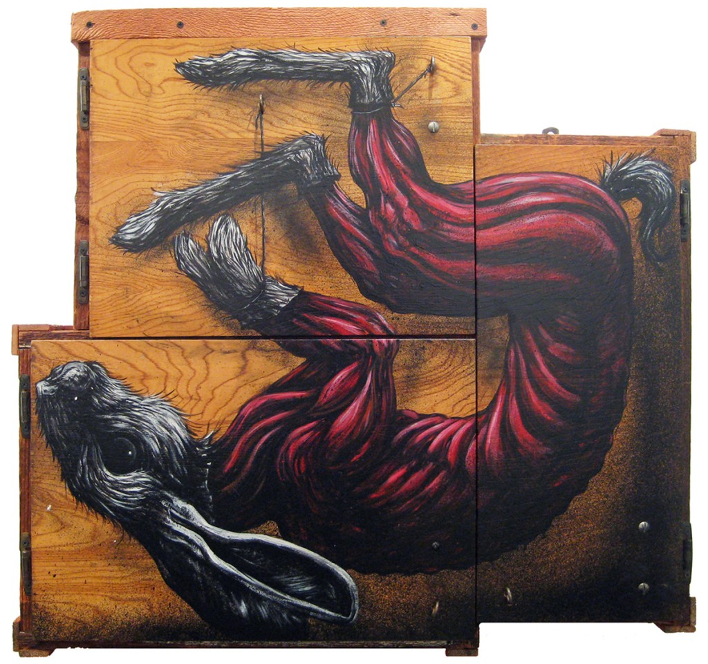 Roa  - Untitled (Image by Jonathan Levine Gallery)