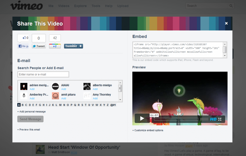 Vimeo gets a redesign | atractivoquenobello