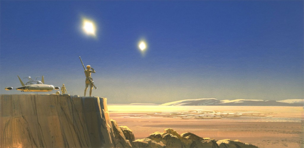 Starworks artwork by Ralph McQuarrie - 3
