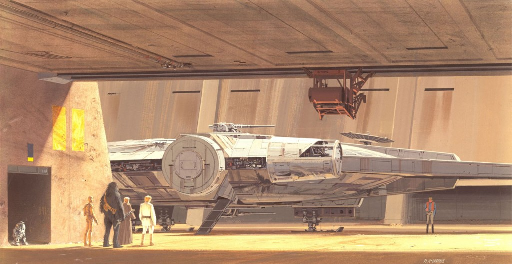 Starworks artwork by Ralph McQuarrie (image from Starwars.com)