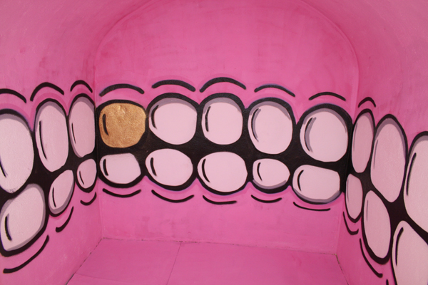 Sweet Toof, 'Untitled' (2012) Wall painting. Courtesy the Artist and EB&Flow