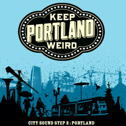 Keep Portland Weird compilation cover