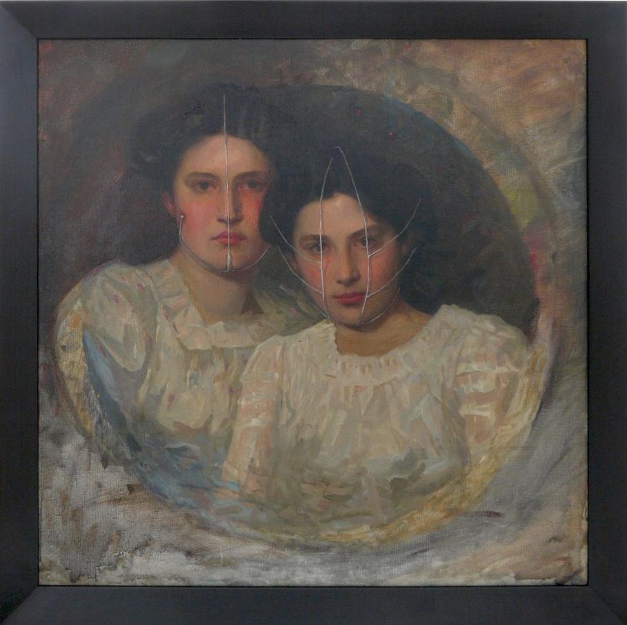 Sisters by Markus Schinwald - 2012 - Image via Galerie Yvon Lambert