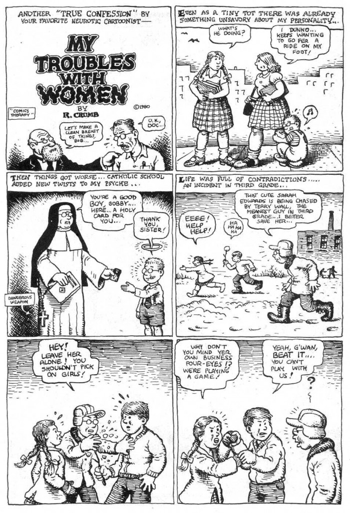 Robert Crumb - My troubles with women (page 1)