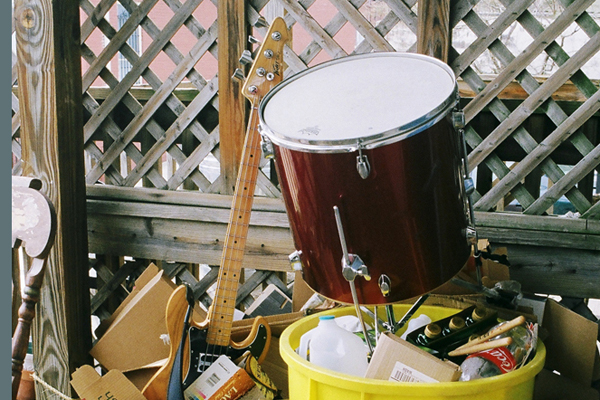 Ed Schrader's Music Beat. Photo Courtesy of Upset the Rhythm.