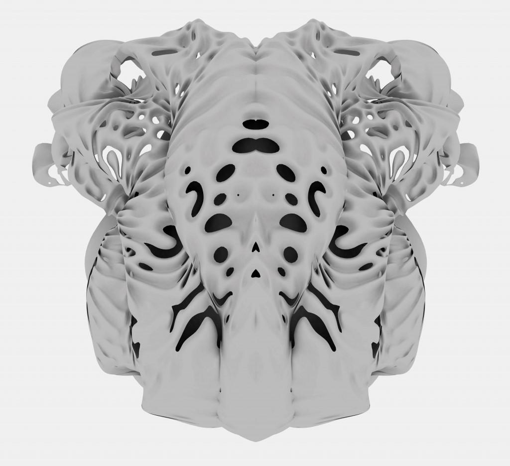 Multiversites creatives - Neri Oxman (image courtesy of Centre Pompidou)