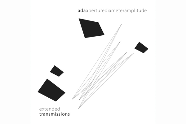 ADA's Extended Transmissions album cover. Image courtesy of Sound Fjord.