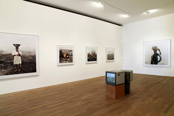 Installation image of Deutsche Börse Photography Prize 2012 at The Photographers' Gallery on display until 9 September 2012 © Kate Elliott