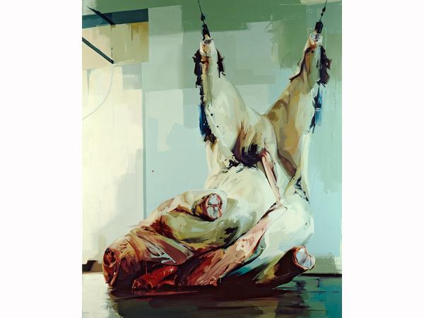 Jenny Saville, 'Torso' (2005). Image courtesy of Oxford Modern Art.