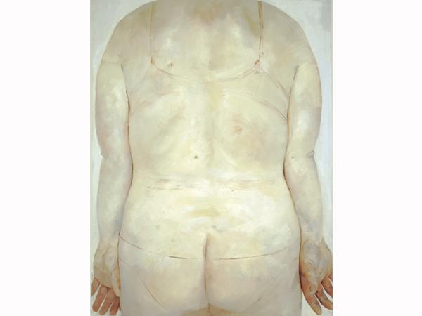 Jenny Saville, 'Trace' (1993). Image courtesy of Oxford Modern Art.