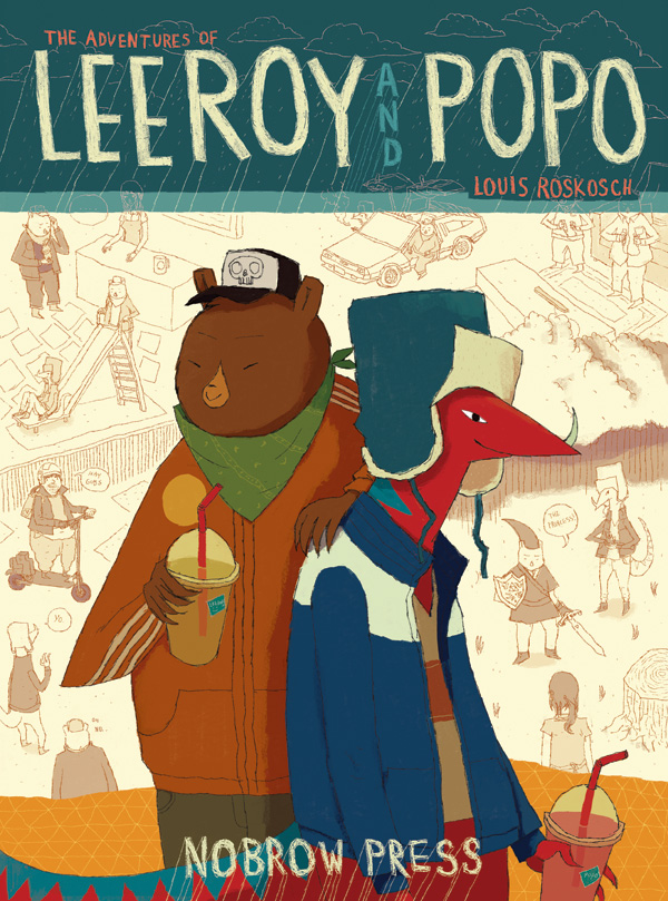 Louis Roskosch's Leeroy and Popo (Image vai Louis R.)