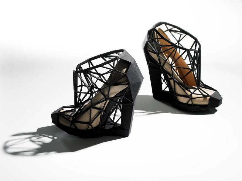 work by Andreia Chaves (image via 3D Printshow)