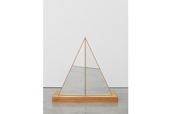 Josiah McElheny, 'Interactive Abstract Body (Split Triangle)' 2012. Image courtesy of White Cube Gallery. Photo by Ben Westoby.