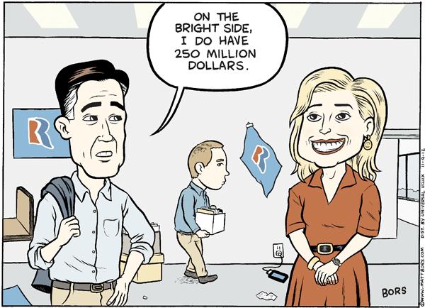 Matt Bors - Romney