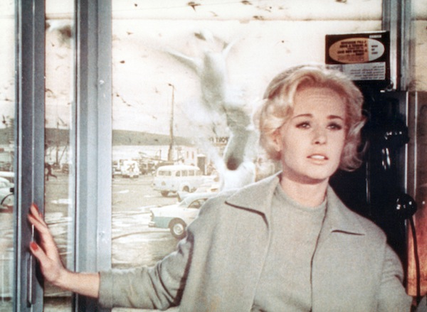 Tippi Hedren as Melanie Daniels in The Birds, 1963. © Universal Pictures. All Rights Reserved.