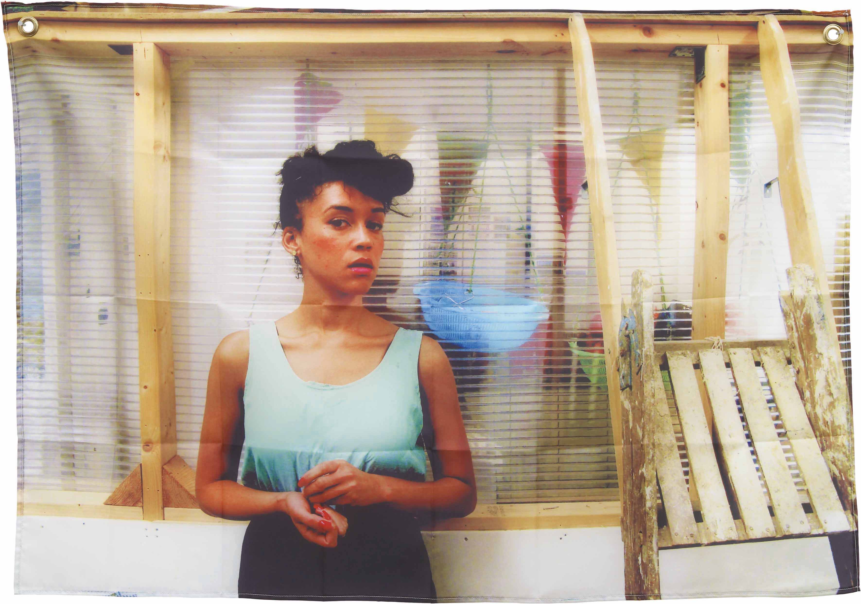 Jennifer Bailey, 'Danielle in the Studio (from New Girls)', (2011). Image courtesy of ICA.