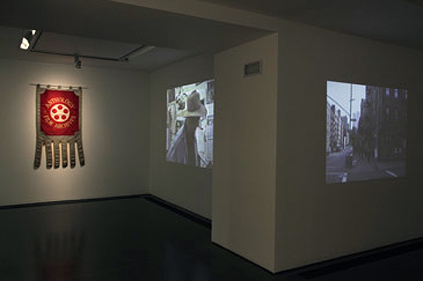 Jonas Mekas, Installation View. Image courtesy of Serpentine Gallery.