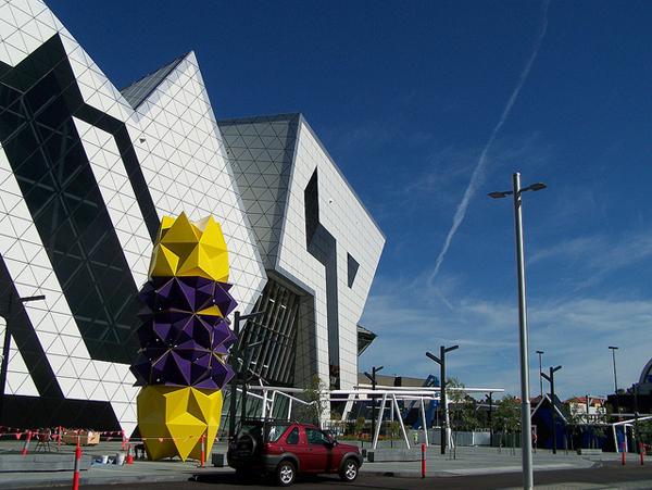 Perth Arena, Western Australia. Photo by Yazmina-Michele de Gaye.