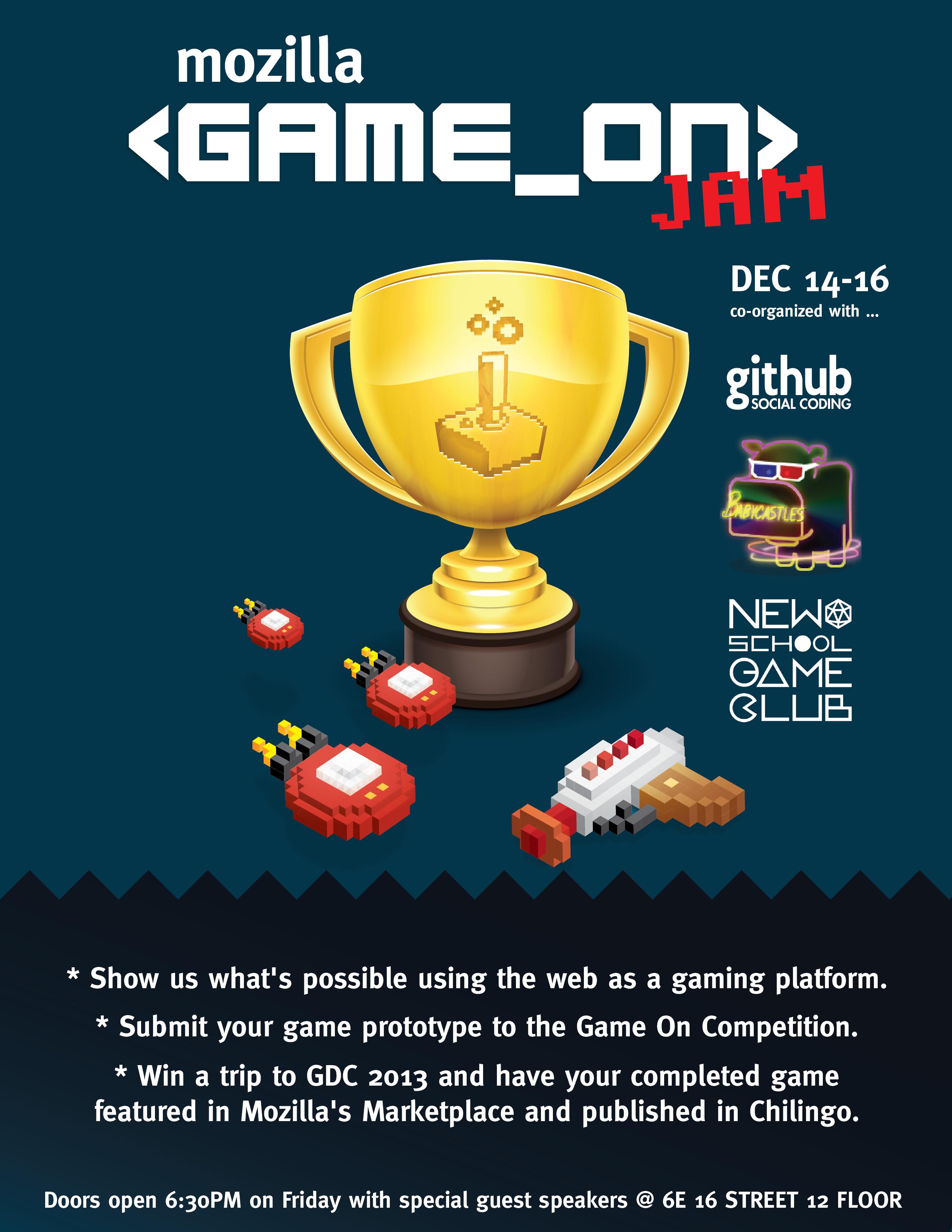 GameOn poster