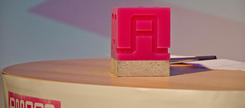 A Maze award  (photo by Jens Keiner)