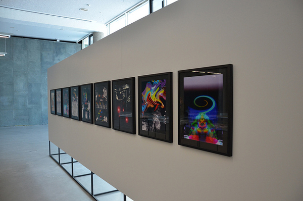 Exhibition Imaging with Machine Processes. The Generative Art of Sonia Landy Sheridan. Image courtesy of transmediale.