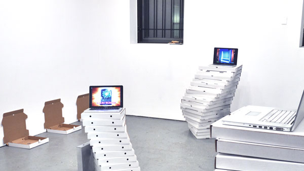 Jennifer Chan, REALCORE Exhibition (2012). Install view.