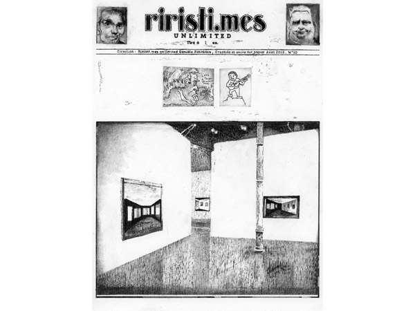 Julien Tiberi, 'Riristi.mes Unlimited (Daniels Jonhston)', (2012). Image courtesy of Semiose Galerie.