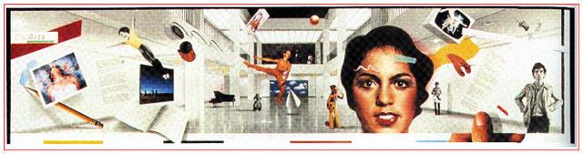 April Greiman, Cal Arts poster (1979).