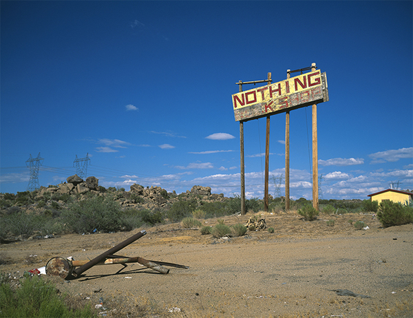 Julien Discrit, 'Something rather than Nothing, AZ'. (2013).Courtesy of the artist