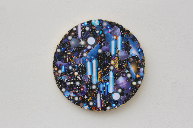 Rachel Noble, Circular Collage.