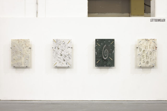 George Henry Longly. Sunday Art Fair Install view. Image courtesy of Luttgenmeijer.