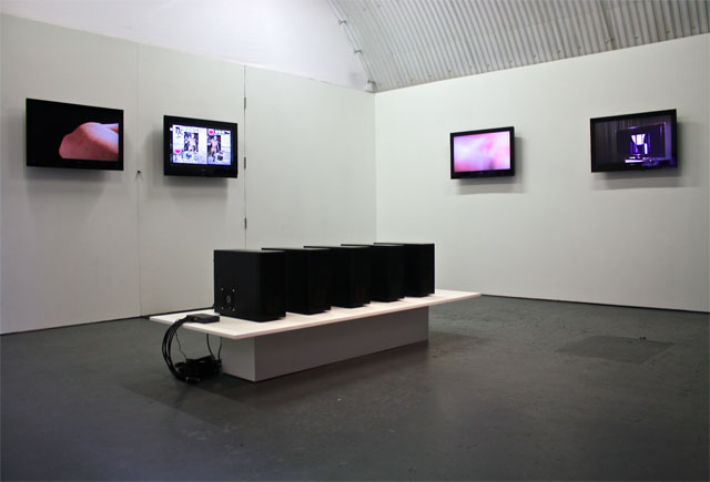 Unified Fabric exhibition view. Image courtesy of Arcadia Missa..