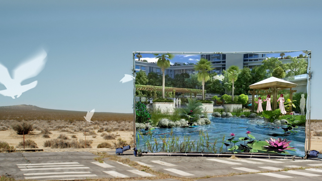 Hito Steyerl, still from 'How Not to Be Seen: A Fucking Didactic Educational .MOV File' (2013). Courtesy the artist.